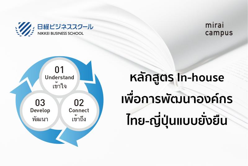 หลักสูตรเพื่อการพัฒนาองค์กร ไทย-ญี่ปุ่นแบบยั่งยืนのメイン画像